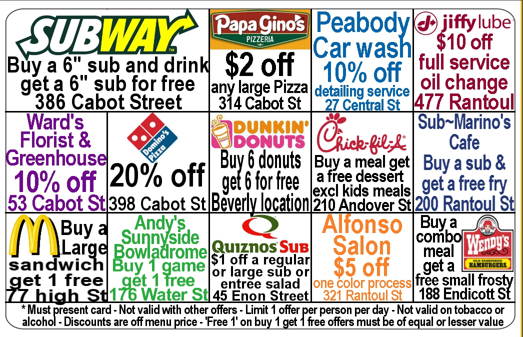 Fundraising Discount Cards are the Most Popular ...
